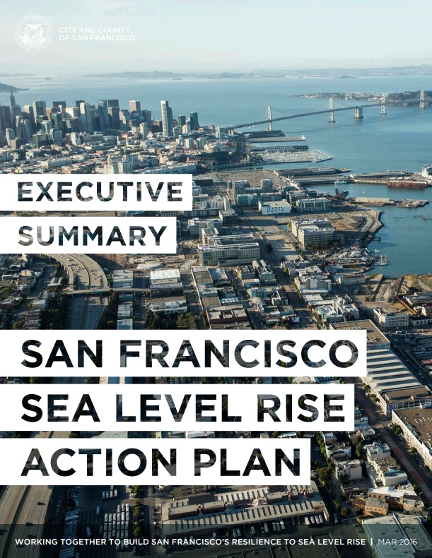 Sea Level Rise Action Plan cover