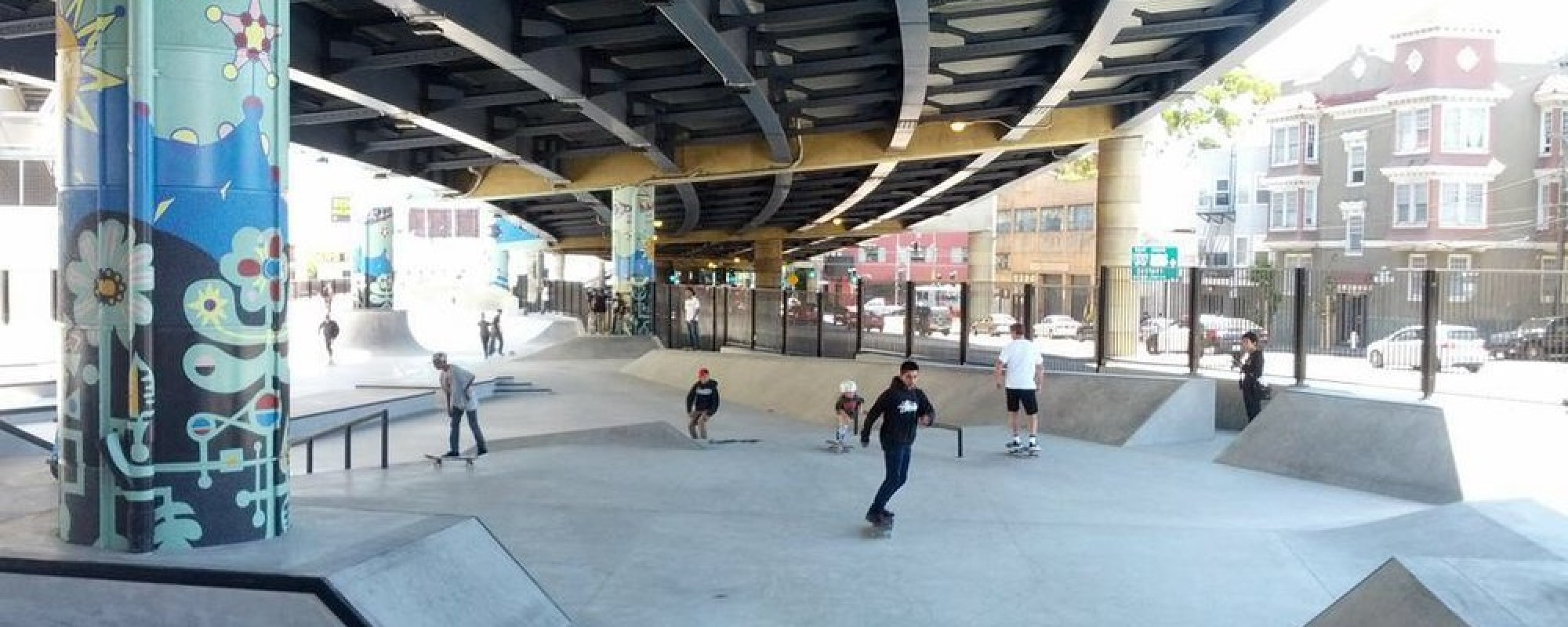 SoMa West - Skate Park and Dog Play Area