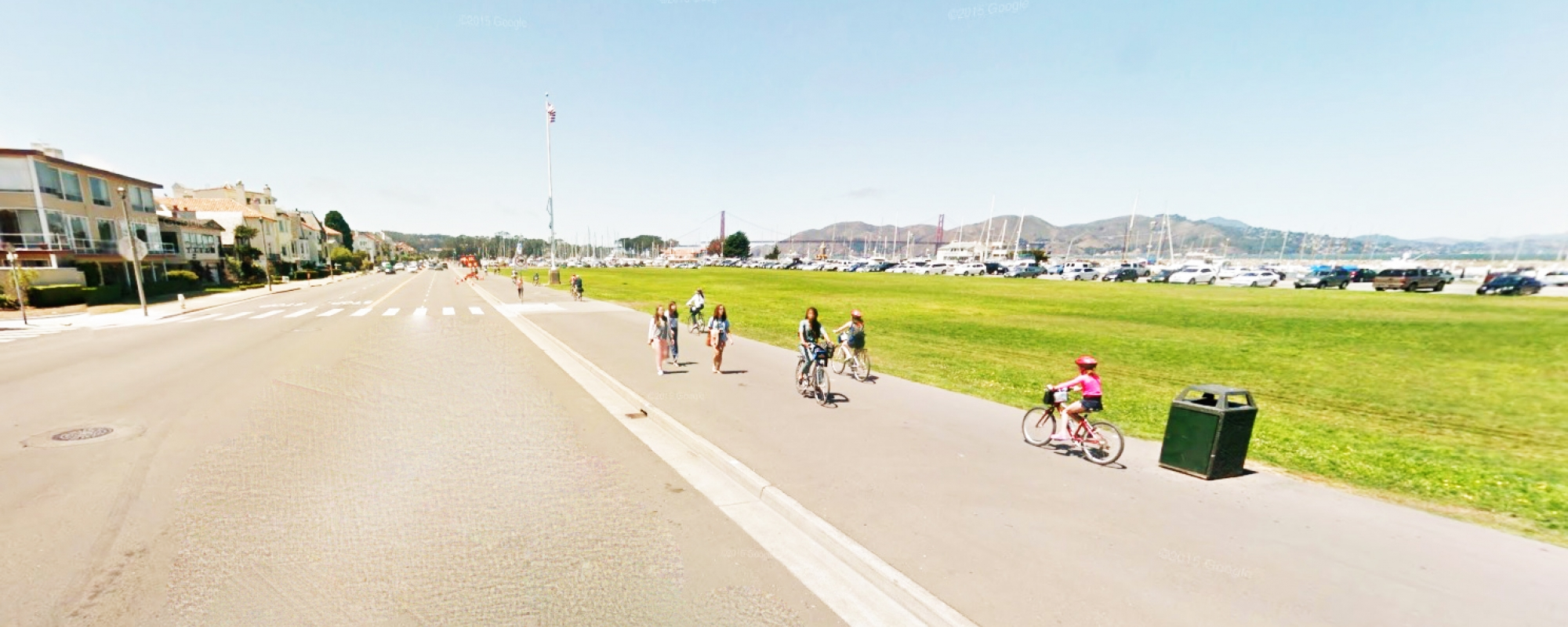 Marina Green Bicycle Trail Project