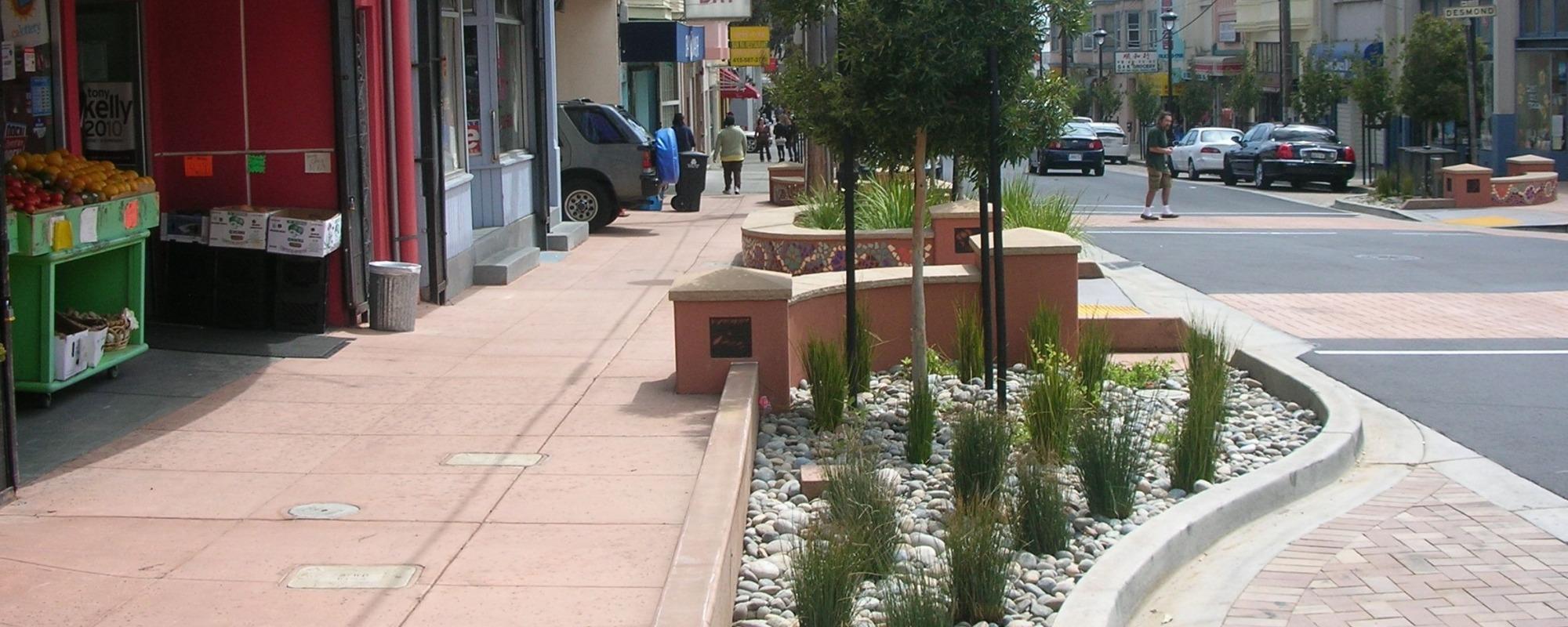 Leland Avenue Streetscape Improvement Project