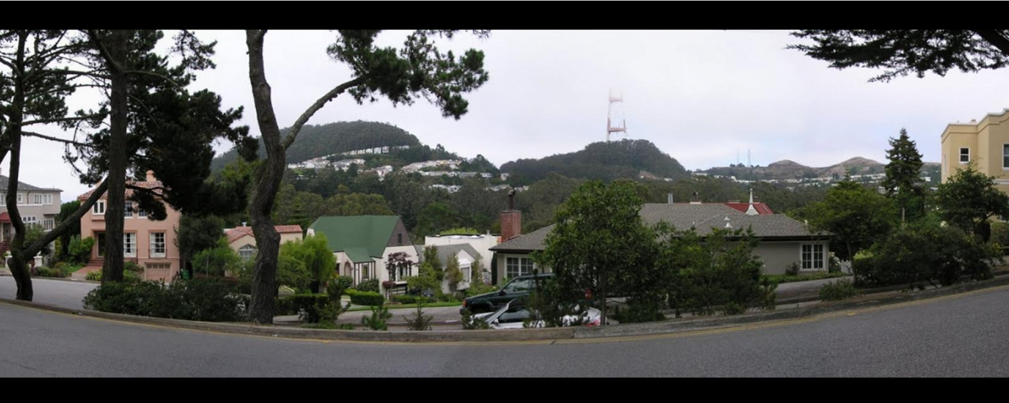 View from Forest Hill Neighborhood, San Francisco