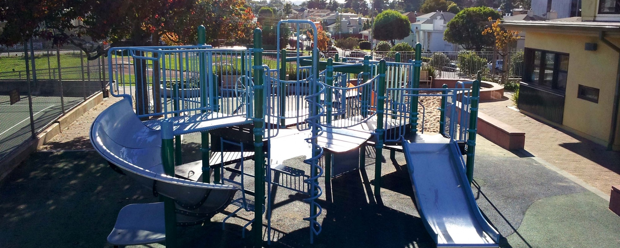 Junipero Serra Clubhouse and Playground