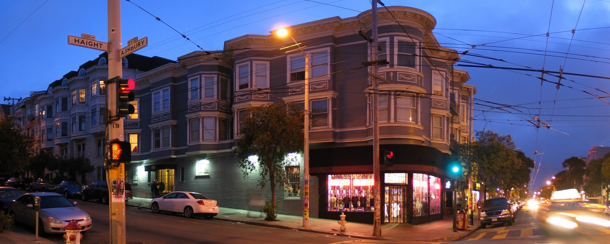corner of Haight and Ashbury
